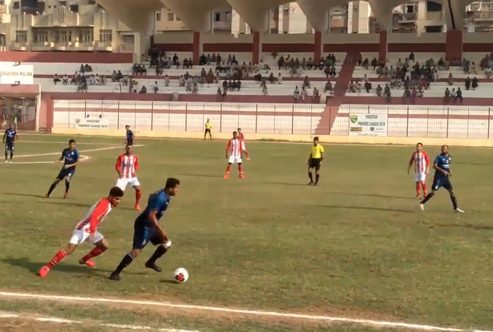 PAF rise to top with draw against K-Electric [The News]