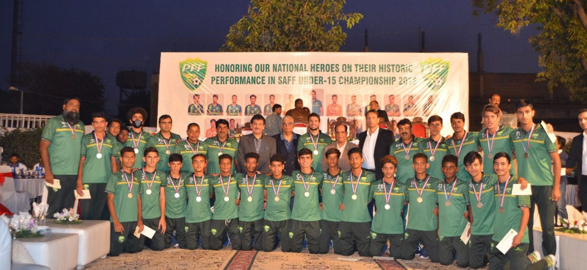 SAFF C'ship runners-up: PFF announces Rs1.5 million for U15 team [The News]