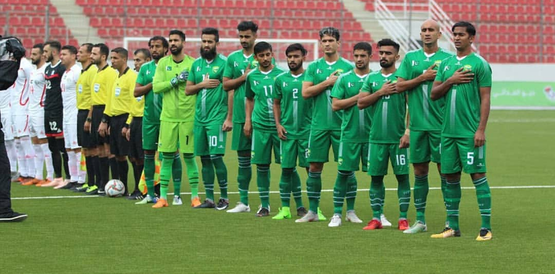 Spirited Pakistan edged out by Palestine [The News]