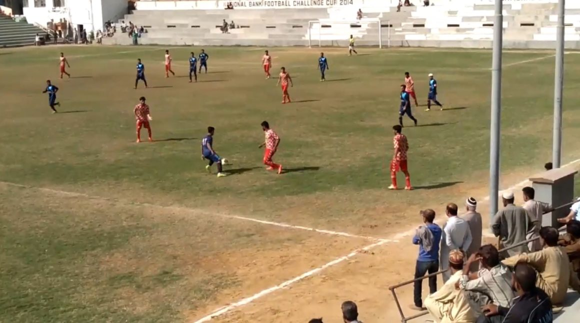 Umair's double helps Afghan FC overwhelm KPT [The News]