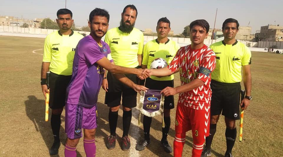 Afghan FC edge PCAA in PPFL [The News]