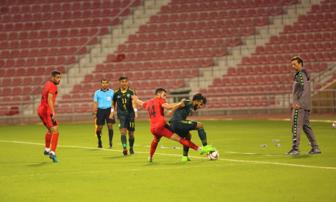 Pakistan go down 0-2 against strong Palestine [The News]
