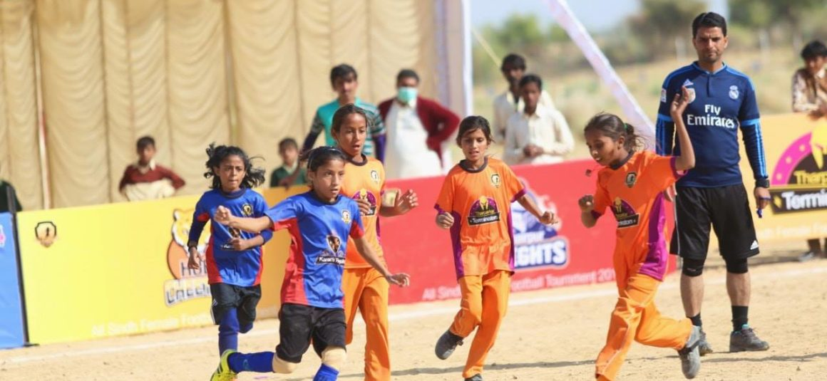Thar witnesses its first football tournament [Express Tribune]
