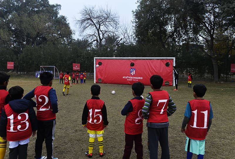 Atletico Madrid shoot for football future in cricket-mad Pakistan [Dawn]