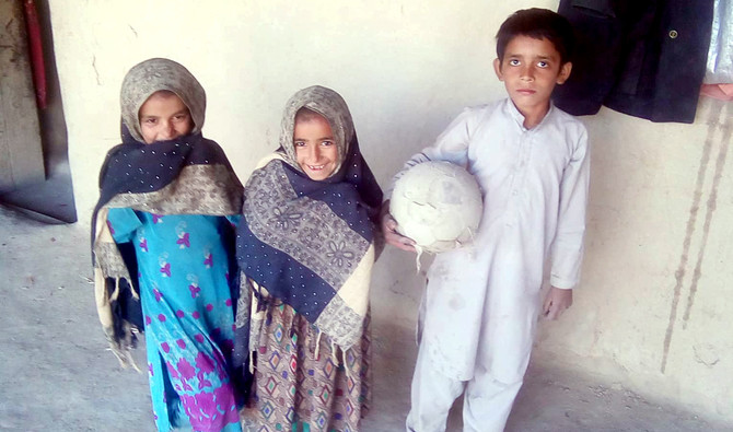 7-year-old football prodigy from Balochistan dreams of becoming Cristiano Ronaldo [Geo]