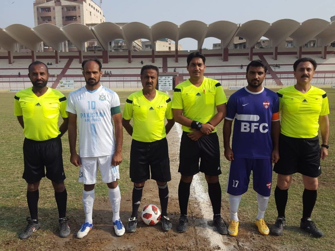 PAF whip Baloch FC to keep title hopes alive [The News]