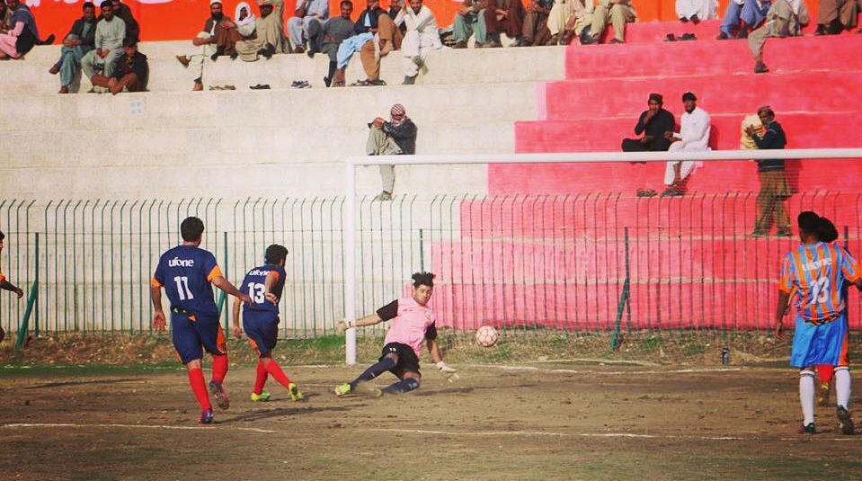 Quetta, Pishin, Khuzdar, Chaman teams reach Ufone Balochistan Football semis [The News]