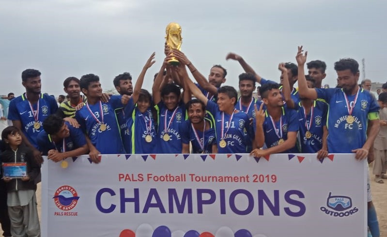 Mubarak Village wins PALS Rescue Football Tournament 2019 in Karachi