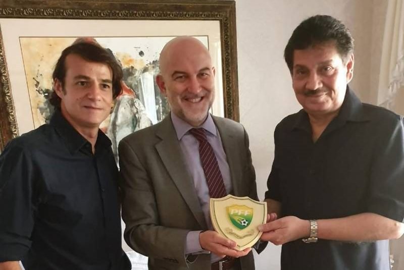 Spain Ambassador offers to help Pak football development [The Nation/The News]