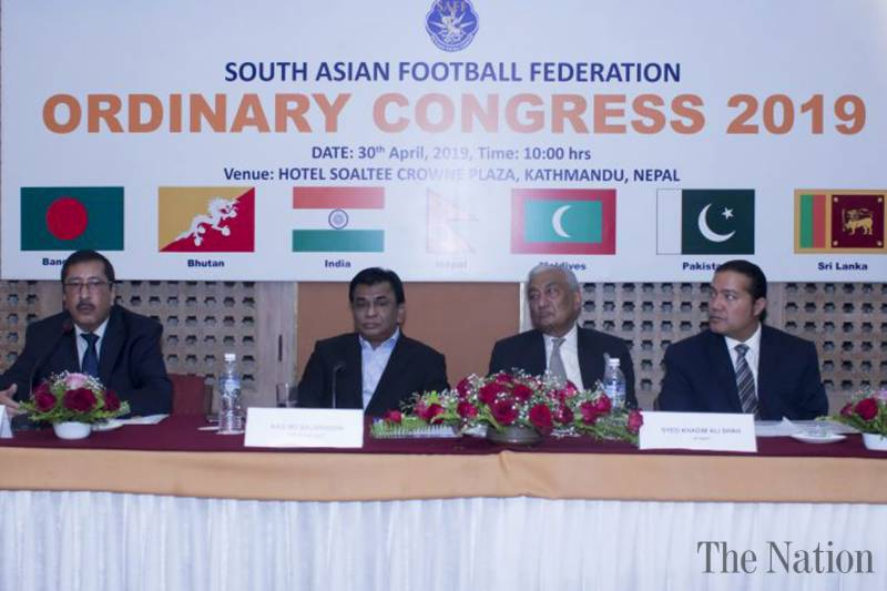 SFA president Khadim chairs SAFF ExCo meeting [The News]