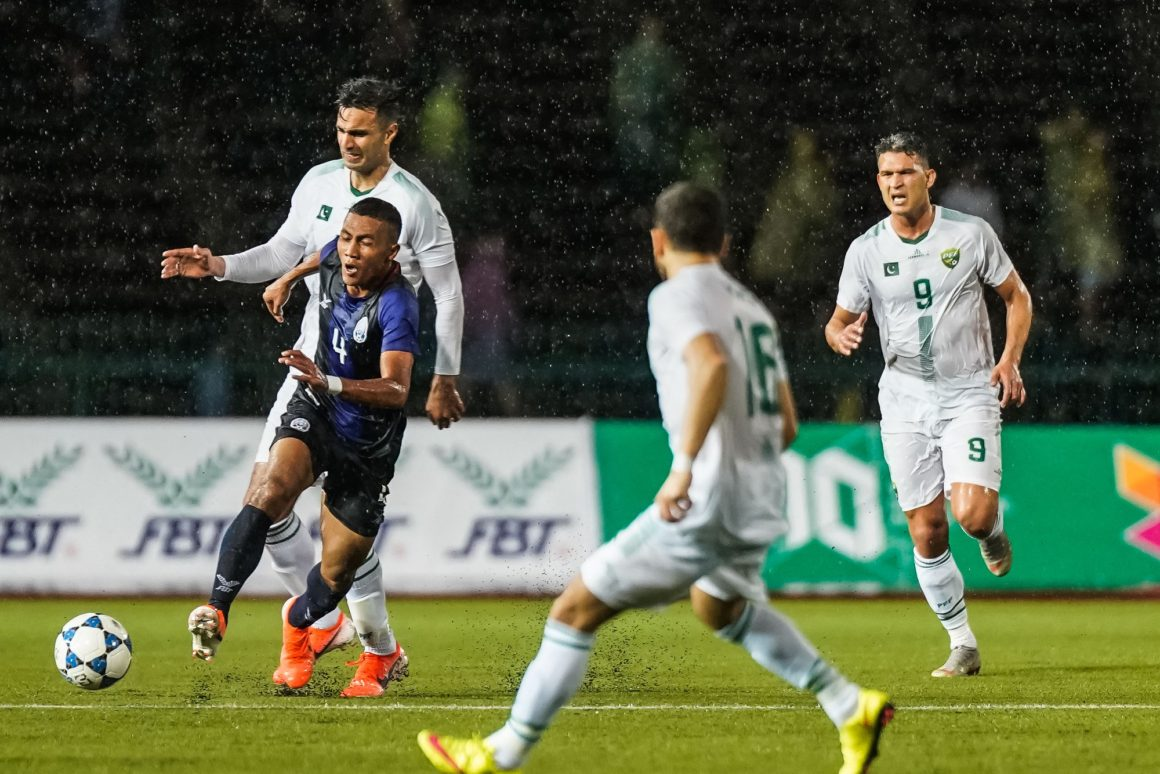 Pakistan go down against Cambodia [The News]