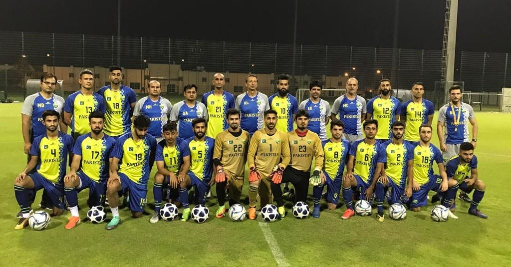 Pakistan train for do-or-die battle against Cambodia in Qatar [The News]