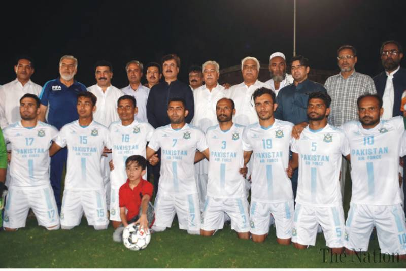 PFF National Challenge Football Cup kicks off in Peshawar [The Nation]