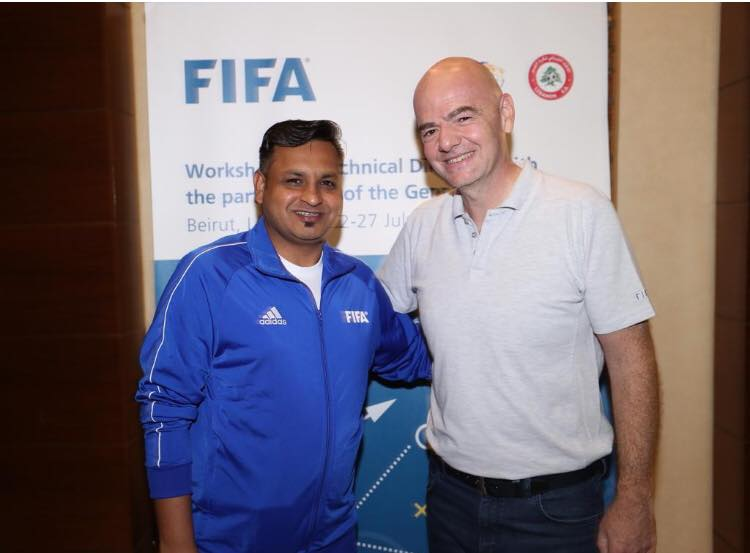Shehzad attends FIFA workshop [The News]