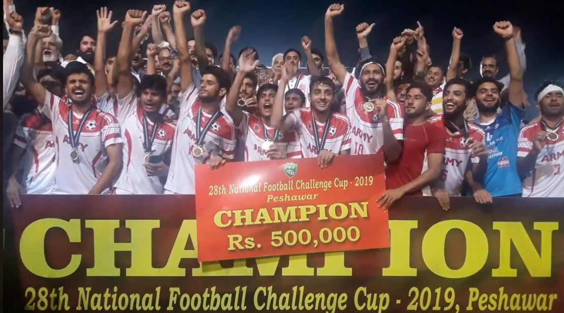 Army reclaim National Challenge Cup title [The News]