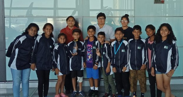 Diya Academy's U11 side returns after featuring in Gothia Cup [The News]