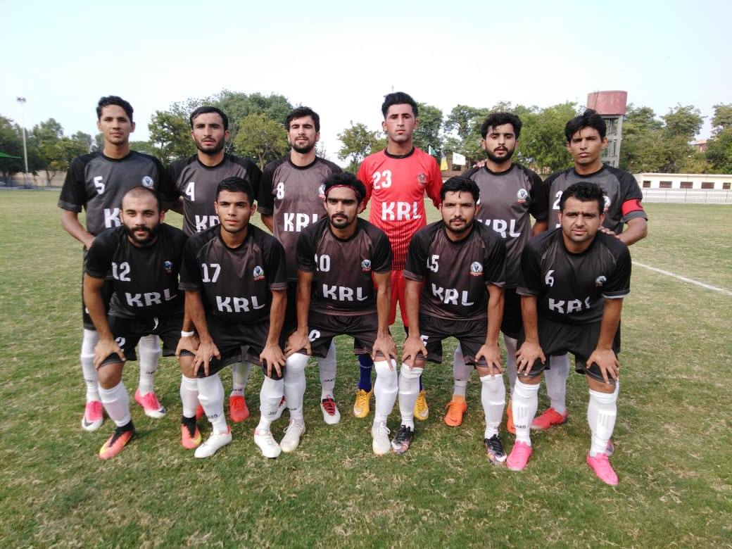 Umair hits treble to put KRL in Challenge Cup semis [The News]