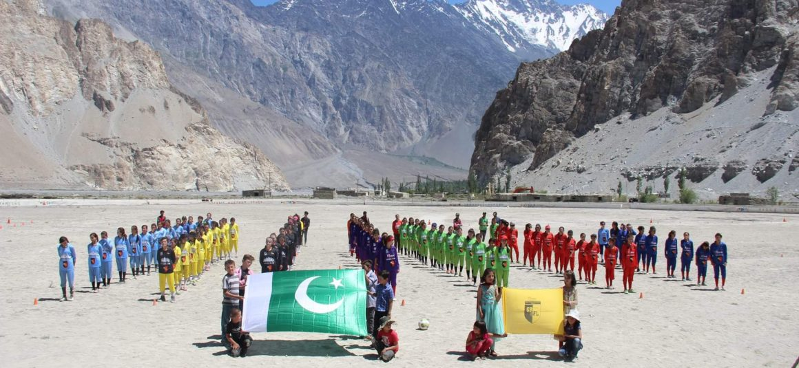 Gilgit-Baltistan Girls Football League: When football will be played on cricket ground [Express Tribune]
