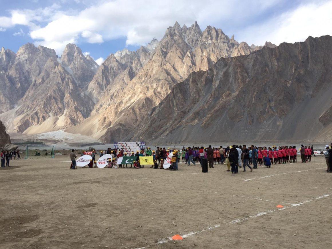Gilgit Baltistan Girls Football League Day II Ends