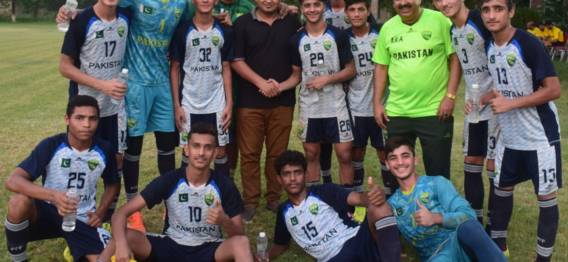 Pak U16s leave for AFC C'ship 2020 Qualifiers [The News]