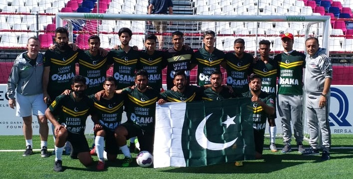 Pakistan loses its first game to Slovenia in Crete