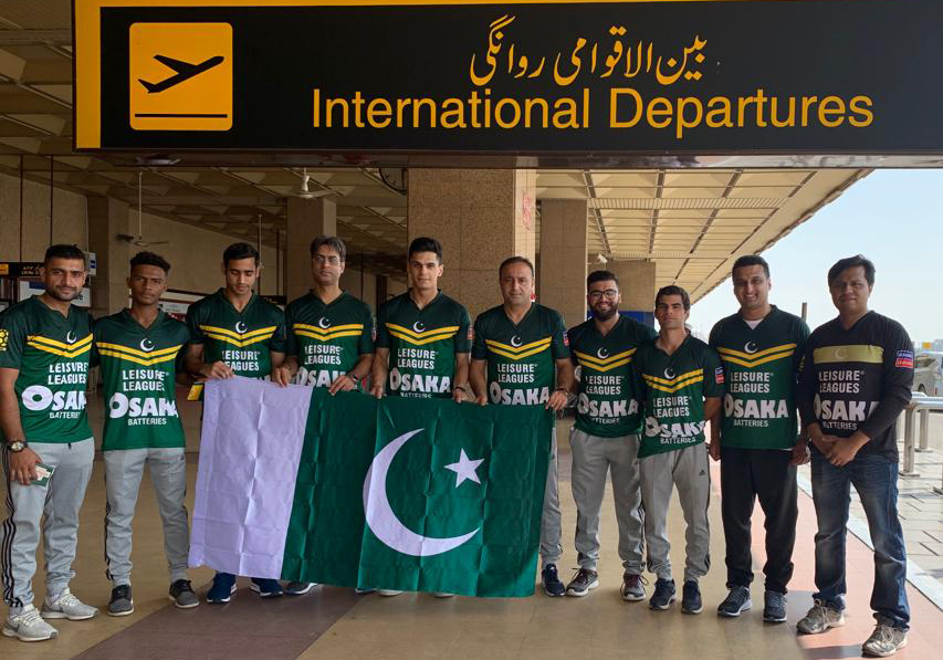 Team Pakistan off to Greece to participate in Socca World Cup
