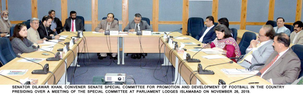 Senate panel calls for promotion of football [Dawn]