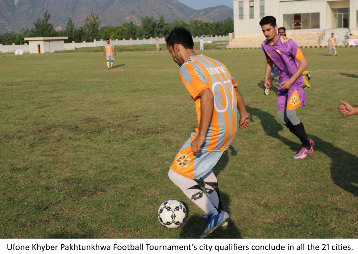 Ufone KPk Cup: 21 city champions decided in qualifiers