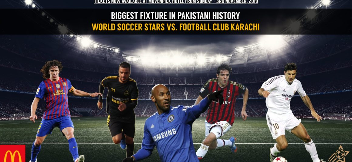 Legendary football players to feature in Karachi exhibition tie [Dawn]