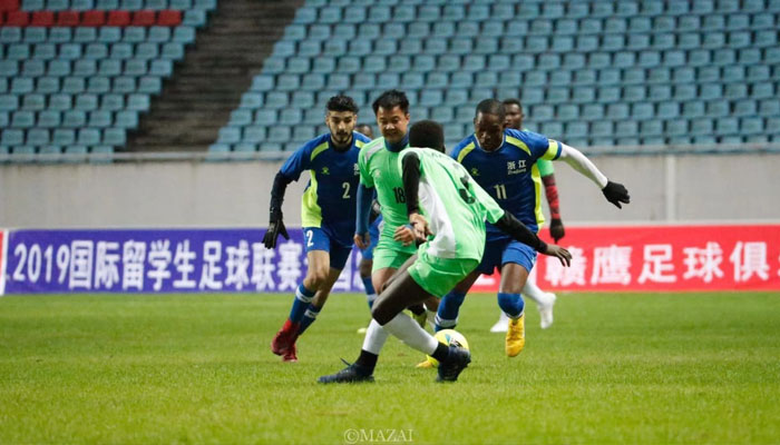 Pakistani students participate in Belt and Road Football League in China [The News]