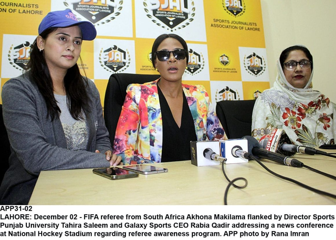 Ready to provide technical assistance to Pakistan women: FIFA referee [The Nation]