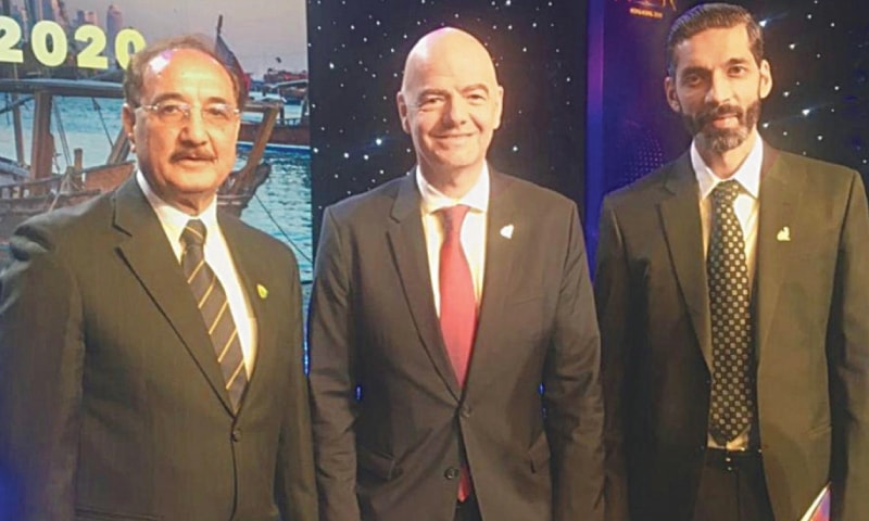 Infantino reaffirms FIFA's backing to PFF Normalisation Committee [Dawn]