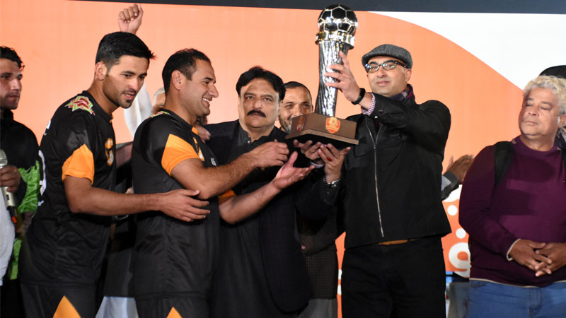 Peshawar Combined FC lift Khyber Pakhtunkhwa Football Cup [The News]