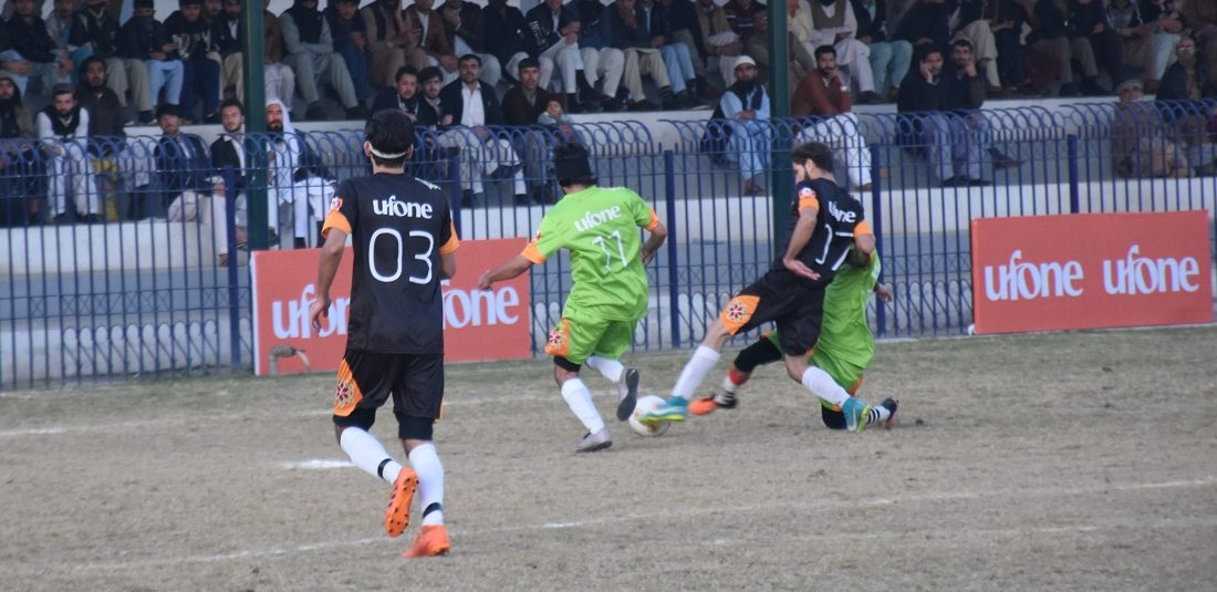Ufone KPk Football Cup: Peshawar Combined and DFA Chitral to battle it out in final
