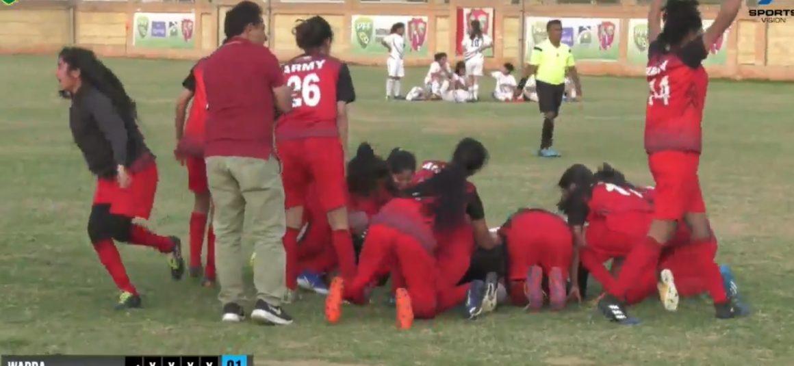 Karachi United, Army in women football final [The News]
