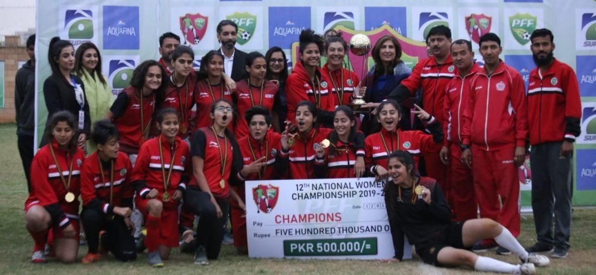 Pak Army trounces Karachi United 7-1 to lift NWFC trophy [Geo]