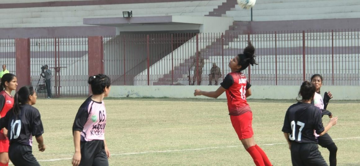 Army, Punjab reach National Women's semis