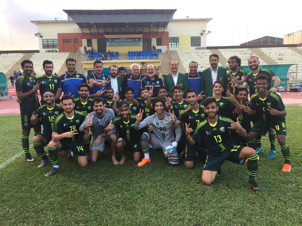 Coronavirus adds to woes of competition-starved Pakistan football team [Dawn]