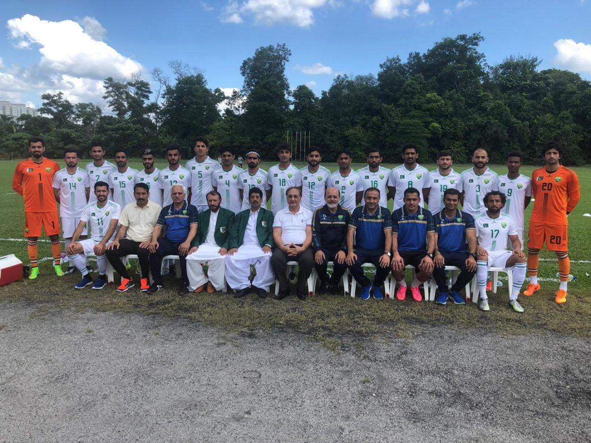 Pakistan hold on for 2-2 draw against Malaysian club [Dawn]