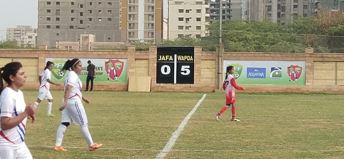 WAPDA, Karachi United win matches in National Women Football [The News]