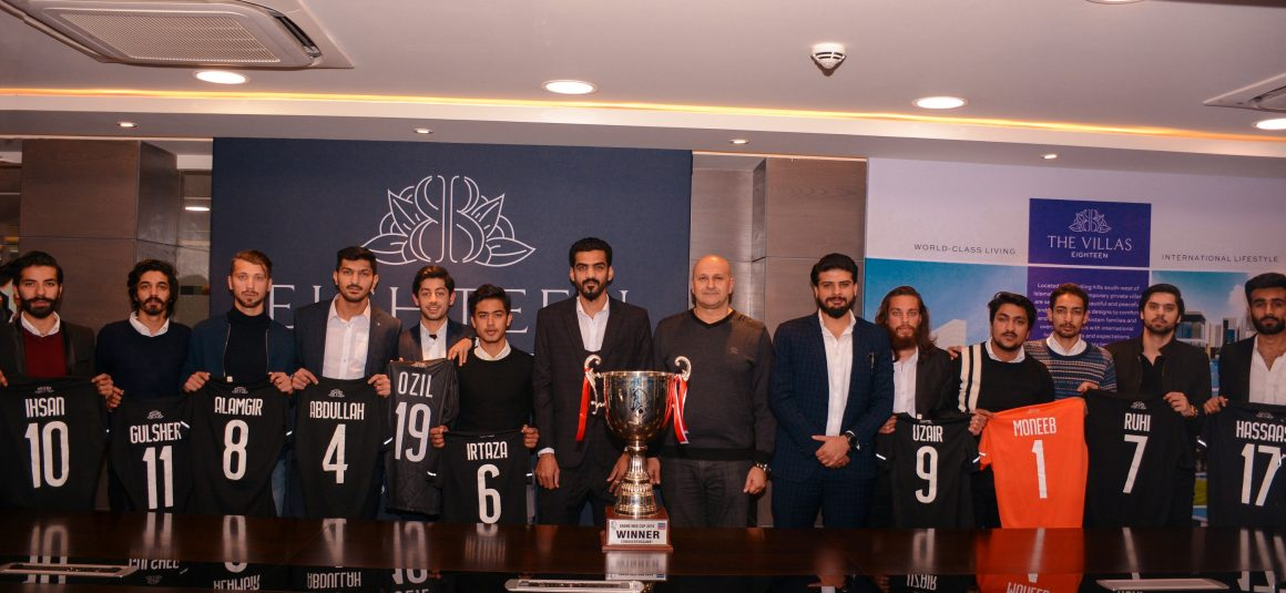 Eighteen: Giving back to Islamabad through football