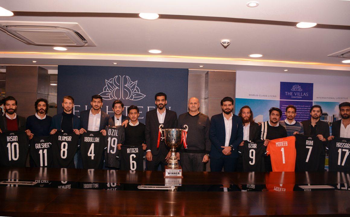 Eighteen: Giving back to Islamabad through football