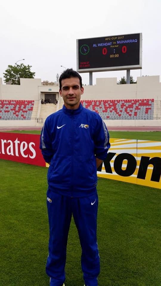 Peshawar's Ali to referee in AFC U19 C'ship