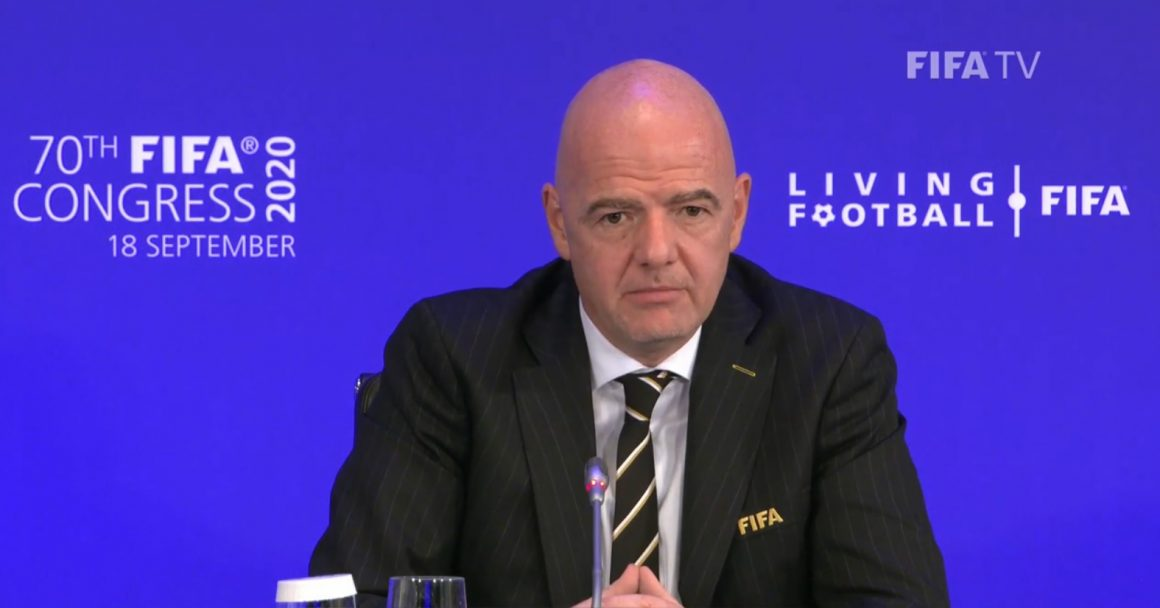 Infantino welcomes dialogue but won't accept govt interference in PFF affairs [Dawn]