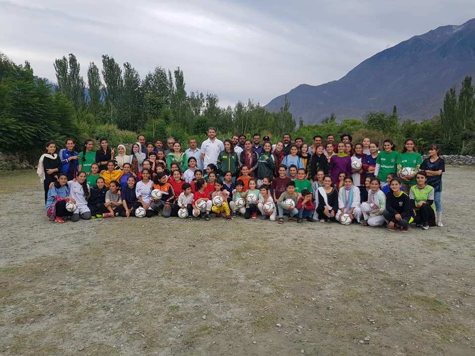 PFF officials delighted with Gilgit-Baltistan girls' football talent [The News]
