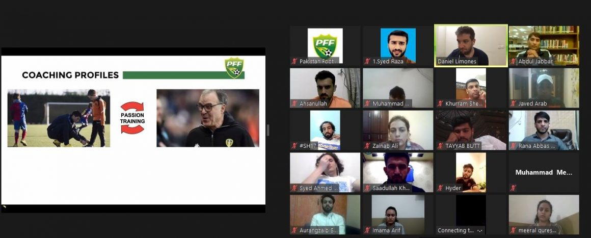 Online theory sessions of PFF C License Coaching Course end [The News]