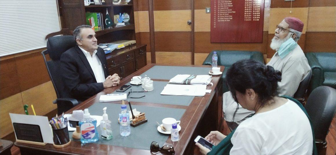 Football stadium of international standard to be built in Karachi: Imtiaz Ali Shah [Dawn]