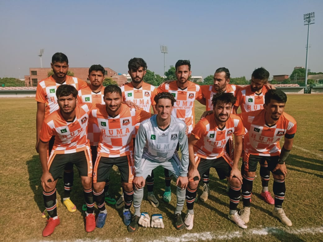 Huma FC Islamabad maintain win streak in PFF League