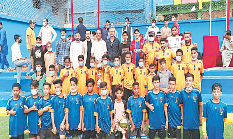 Coach Emad Football Academy inaugurated after refurbishment [Dawn]