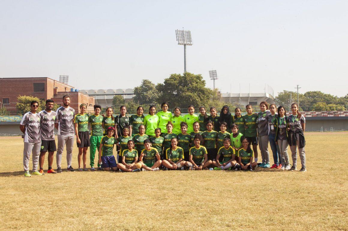 Pak women's team camp concludes